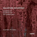 Sciarrino:String Quartets 7,8