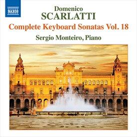 D.スカルラッティ:鍵盤のためのソナタ全集 第18集