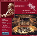 Levine / Munich.po R.strauss: Till、 Weber: Oberon、 Mozart: Sym.39、 Copland