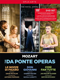 モーツァルト:ダ・ポンテ・オペラBOX[DVD, 5枚組]