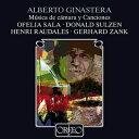 【在庫処分特価!】ヒナステラ:声楽、室内楽作品集 オフェーリア・サラ、ゲルハルト・ツァンク、ドナルド・スルゼン…