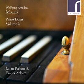 モーツァルト:ピアノ・デュエット集 第2集