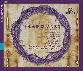 J.S.バッハ:ヨハネ受難曲 BWV245(1749年稿)[3CDs]