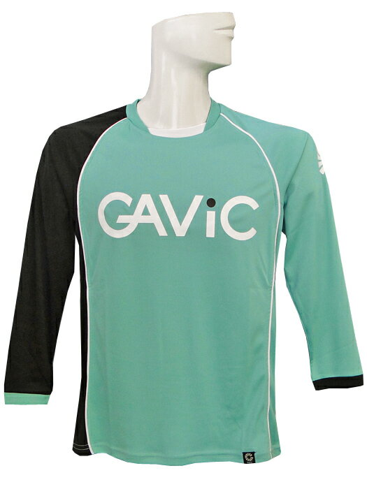 (ガビック) GAVIC/ジュニア長袖プラクティスシャツ/グリーンXブラック/簡易配送(CARDのみ送料注文後変更/1点限/保障無)