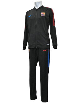 *** Limited arrival *** (Nike) NIKE/17/18 Barcelona /DRY SQUAD knit track suit / black X black /854341-011