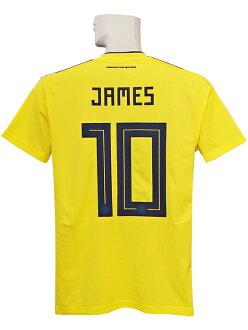 (愛迪達)adidas/18/19哥倫比亞代表/家/短袖/詹姆斯·羅德裏格斯/CW1526
