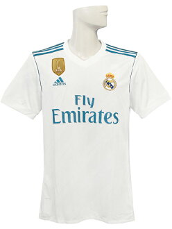 newest 78eef e7a71 (Adidas) /BV814-AZ8059 with adidas/17/18 Real Madrid / home / short sleeves  /FIFA club World Cup championship badge