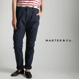 **【MAX2,000円OFFクーポン対象 10/23(水)9:59まで】MASTER & Co.〔マスターアンドコー〕MC232コットンベルト付ナローチノパンツ