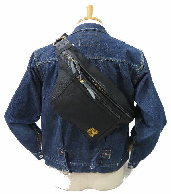 【トロフィークロージング】 デイトリップバッグ/ワンショルダー ブラック TROPHY CLOTHING DAY TRIP BAG 日本製 【送料無料】