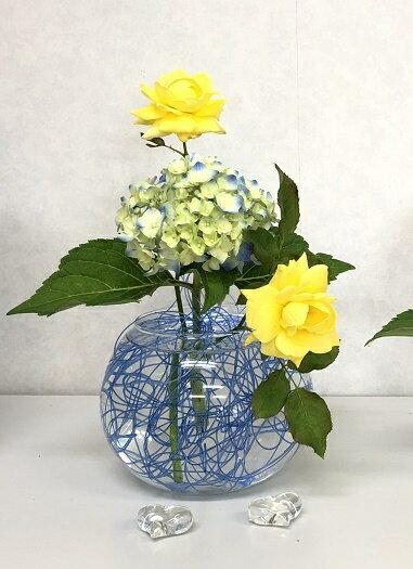 花留め 花器(L)とセット フラワーアレンジメント ねっこねっと オアシス 生け花 花材 一輪差し 一輪挿し 剣山 フラワーベース 花器 花瓶 華道具
