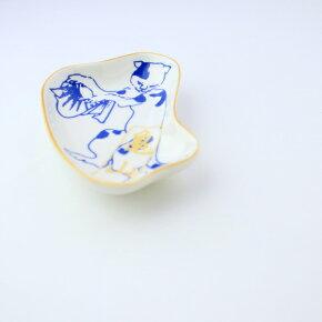豆皿(はりこ)