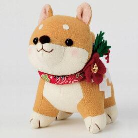 福招き犬 茶柴(ぬいぐるみキット) PA-755 (メール便不可)