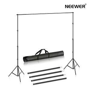 Neewer 2x3m 背景スタンドサポートシステムセット ポートレート、写真撮影、ビデオ撮影に対応