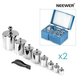 Neewer はかり重量校正分銅2セット1000g(500/200/100/100/50/20/20/10g) デジタルジュエリースケールに対応