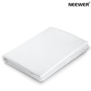 Neewer 3.6x1.5m ポリエステルホワイトシームレス拡散布 撮影ソフトボックス、ライトテント、DIY照明などに適用