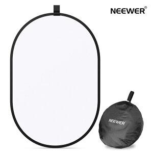 Neewer 写真スタジオ照明リフレクター 折りたたみ可能なソフトディフューザーディスクパネル キャリングケース付き スタジオ&屋外ポートレート、製品写真、ビデオ撮影に対応(60 x 90 cm)