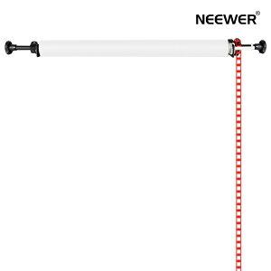 Neewer 撮影用単軸背景サポート 壁掛け式 手動 背景サポートシステム 撮影用簡易スタジオ チェーン駆動型背景上昇システム