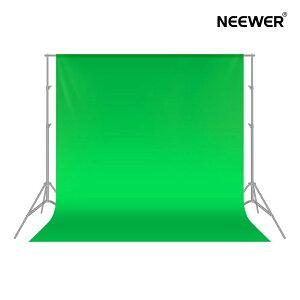 NEEWER 1.8x2.8M 背景布 100%ポリエステル 折りたたみ可能 写真、ビデオ、テレビ用(緑)