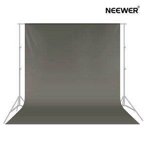 Neewer 3x3.6M背景布 背景シート ポリエステル 無反射 折りたたみ可能 写真 ビデオ テレビに対応【灰色】