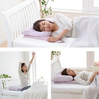 西川リビングピローギャラリー「ぐっすり美人まくら」約38×52cmピンク高さ調節可能やわらかい枕ポイント10倍