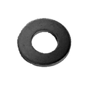 鉄 平ワッシャー(特寸) 2.6x7x1(2.6+0.2) 三価黒クロメート 【10000個入】