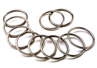 Stainless steel round ring wire diameter, thickness 5 mm × 70 mm