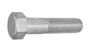 鉄(S45C)/クロメート [小形] 7マーク 六角ボルト (細目・半ねじ)M14×80 《ピッチ=1.5》 【 お得セット : 20本入り 】