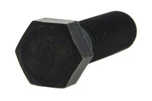 鉄(S45C)/酸化鉄被膜 [小形] 8マーク 六角ボルト (細目・半ねじ)M12×130 《ピッチ=1.25》 【 バラ売り : 2本入り 】