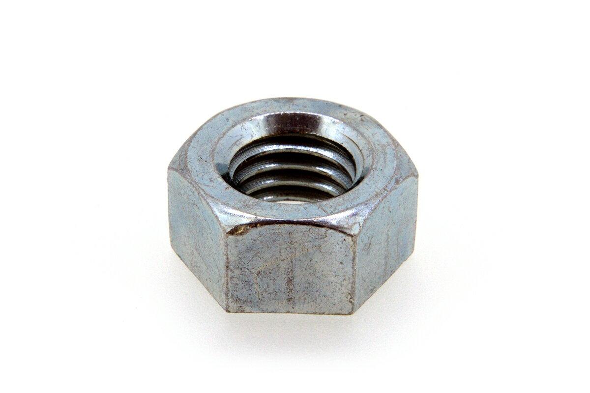 鉄/ユニクロ 六角ナット [1種]M2 【 バラ売り : 10個入り 】