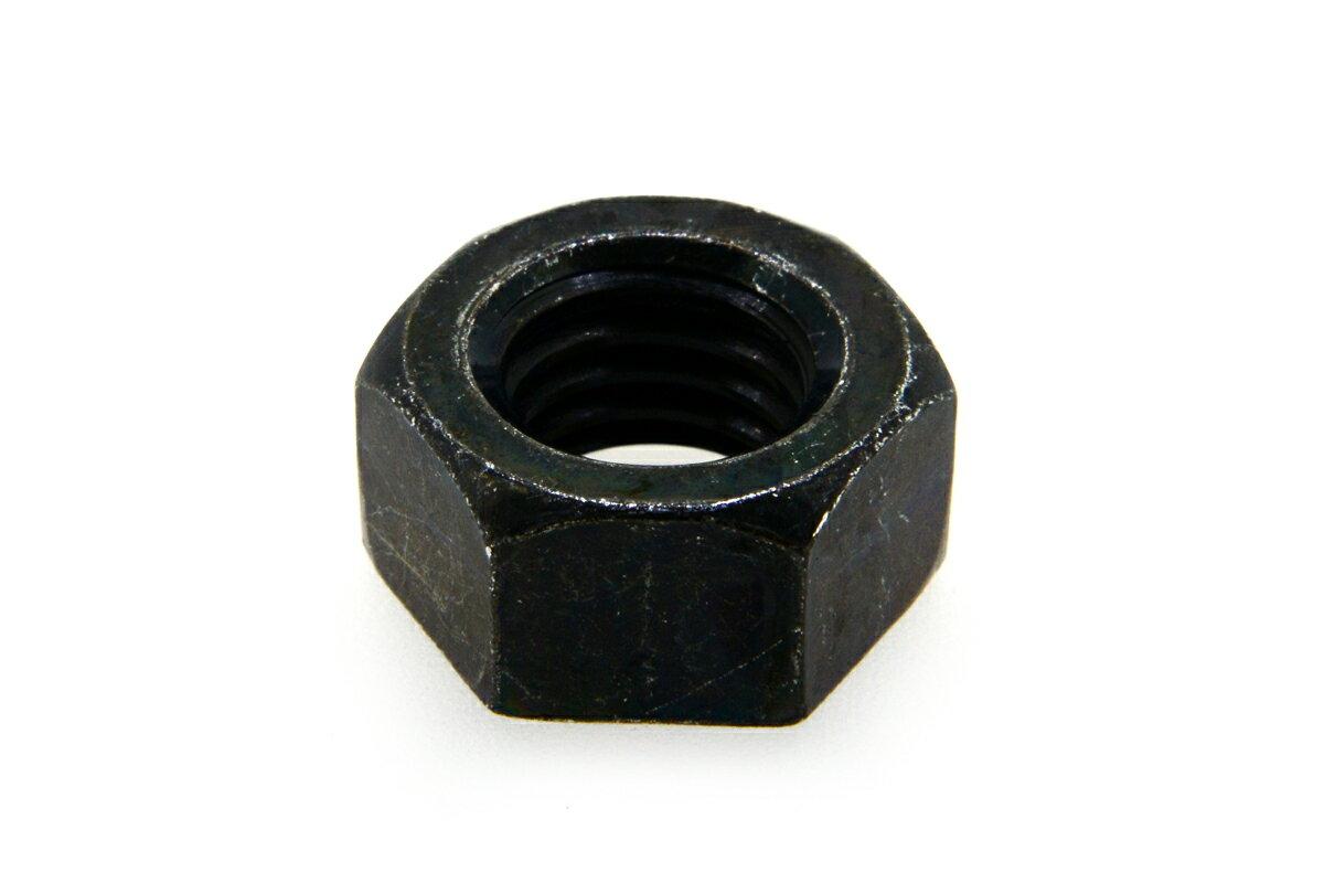 鉄/三価ブラック 六角ナット [1種]M4 【 バラ売り : 10個入り 】