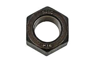 鉄(S45C)/生地 10割 六角ナット [1種] (細目)M36 《ピッチ=3.0》 【 バラ売り : 1個入り 】