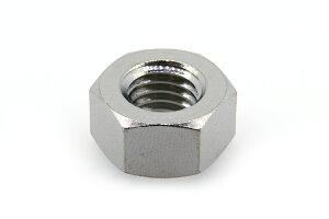低カドミウム黄銅/ニッケル 六角ナット [2種]M3 【 バラ売り : 10個入り 】