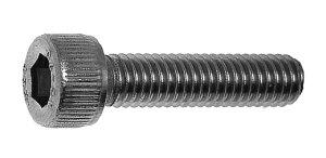 鉄(SCM435)/黒色クロメート キャップボルト (全ねじ)M4×55 【 小箱 : 1箱/200本入り 】
