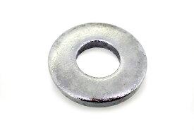 鉄/クローム 丸ワッシャー [JIS小形] M6用 6.5×11.5×0.8 【 バラ売り : 10個入り 】