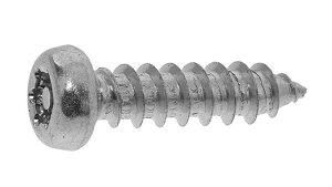 鉄/三価ブラック (ピン・トルクス) ナベタッピング [1種A形]M4×16 【 小箱 : 1箱/1000本入り 】