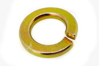 Iron / chromate spring washer M8