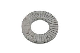 鉄(S25C相当・焼入れ)/デルタプロテクト ノルトロックワッシャー (幅広タイプ)M8 【 バラ売り : 2組入り 】
