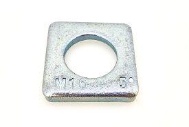 鉄/ユニクロ テーパーワッシャー (傾斜角:5度)M20 【 小箱 : 1箱/50個入り 】