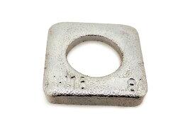 鉄/三価ホワイト テーパーワッシャー (傾斜角:8度)M10 【 バラ売り : 3個入り 】