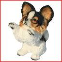 瀬戸焼・犬の置物【パピヨン1】 【あす楽対応】【コンビニ受取対応商品】