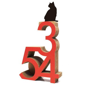 ニャンダフル・キャットタワー「345」 据え置き型 / 猫用 キャットタワー ECOでおしゃれなデザインの高品質 日本製 ダンボール製