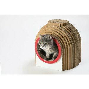 カマクラハウス / 猫用 ファニチャー キャットハウス ECOでおしゃれなデザインの日本製 ダンボール