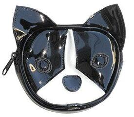 犬顔シリーズ フレブル顔ポーチ フレンチブルドッグ 雑貨 グッズ 犬柄 おやつケース 散歩 おもしろ ユニーク 個性的 小物入れ 薬入れ 携帯 タバコケース メンズ レディース コインケース かわいい エナメル