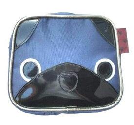 ワワワワンコの犬顔ポーチ パグ グッズ 雑貨 犬柄 ポーチ おやつケース 散歩 おもしろ ユニーク 個性的 小物入れ 薬入れ 携帯 タバコケース メンズ レディース コインケース かわいい