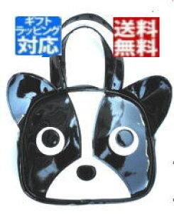 ハンドメードバッグ フレンチブルドッグ モチーフ 犬顔 手提げバッグ 子供 レディース メンズ 犬顔バック エナメルバッグ sサイズ 犬 グッズ 雑貨 柄 好き プレゼント デザイン