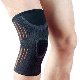 膝サポーター 膝カバー 膝の痛み軽減 関節靭帯保護 スポーツ 男女兼用 ランニング バスケ サイクリング 伸縮性抜群 保暖 防寒 冷え防止 片足分1枚
