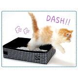 ☆彡猫壱ブランド・・・・ポータブルトイレレッドカラーキャットモデル猫の手スカイニーにゃん!!