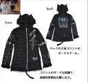 ☆~~パンキー・ロックにゃ!!,猫耳・JACKET*,.,.,.*~~☆やっぱり猫が好き!(^ω^)猫耳フード付きPUNK系新登場!!