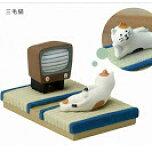 ☆彡旅にいこうにゃ・シリーズスマホスタンド三毛猫