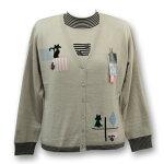 (^O^)/猫の手!!超特価!!☆~~イタリアンスタイル~~☆ジャケット幅広い年代に使って頂けるニットジャケットです